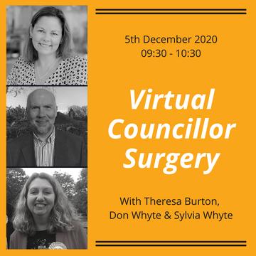 Councilor Surgery Advert