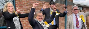 Elected Lib Dem councillors in Waverley